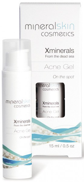 Akne Gel: X-Minerals Cosmetics|15 ml