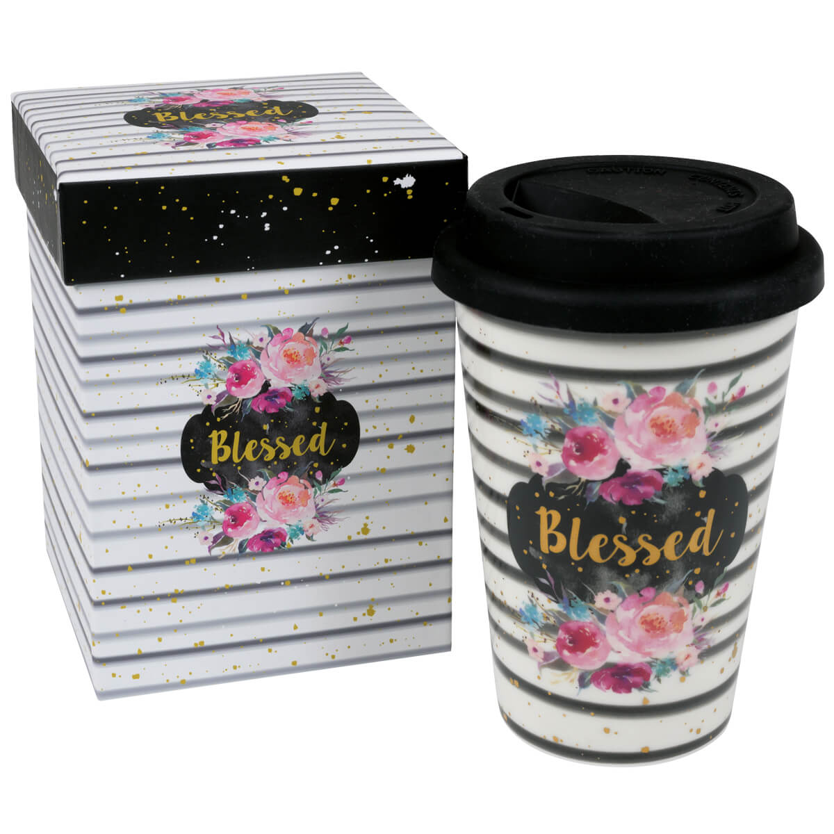 Becher to go Blessed