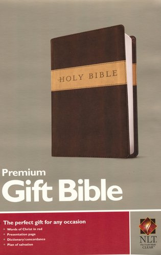 Premium Gift Bible|Brown - Tu-Tone