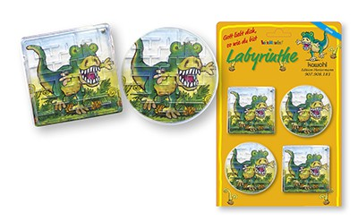 DINO-Geduldspiel-Set (10 4er Packs)